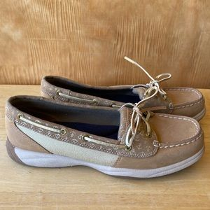 Sperry Top-Sider Woman's Sand Gold Boat Shoes